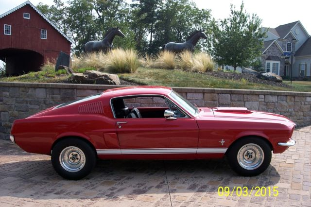 Best Looking Year Fastback Muscle Car Shelby Side Scoops Candy Apple