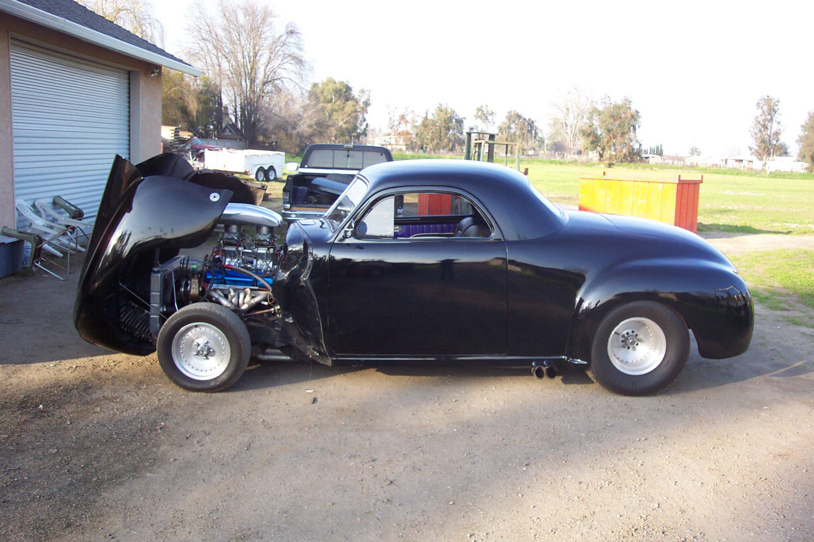 black 1941 dodge business coupe mopar 3 window classic