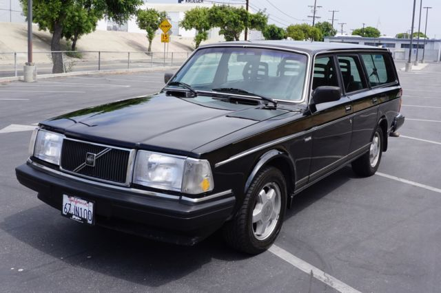 black 1990 volvo 240 wagon classic volvo 240 1990 for sale. Black Bedroom Furniture Sets. Home Design Ideas