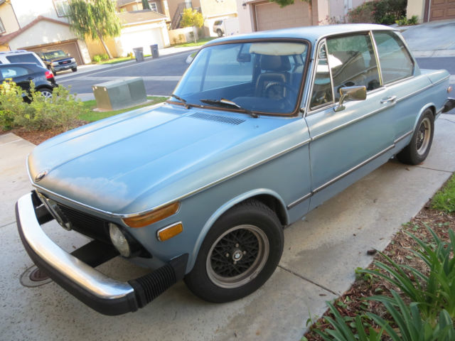 Bmw 2002 New Engine Weber Carbs Header Bilstein Classic Bmw 2002 1976 For Sale