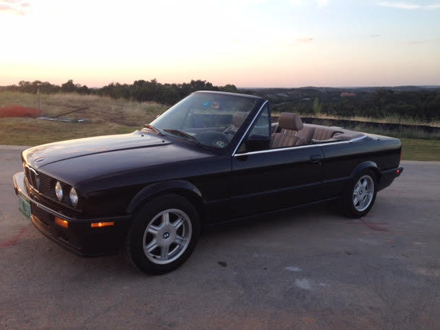 Bmw 318ic Convertible 84k Miles Orignial Paint 5sp Classic Bmw 3 Series 1991 For Sale