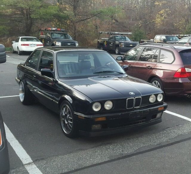 from Cooper bmw 325is e30 tranny swap