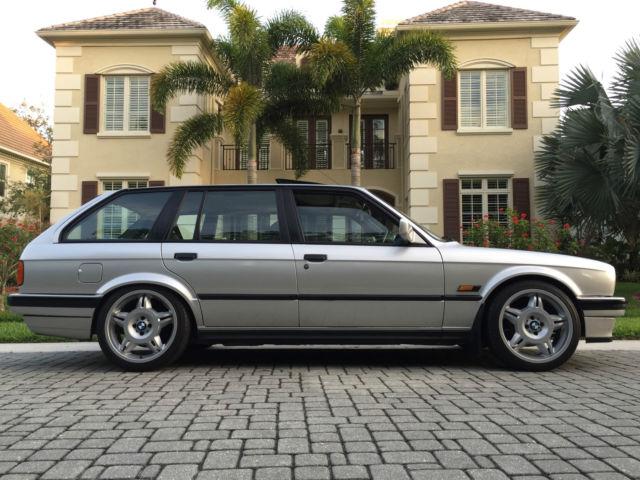 BMW E30 325i 5 SPEED MANUAL STATION WAGON EURO TOURING RHD ...