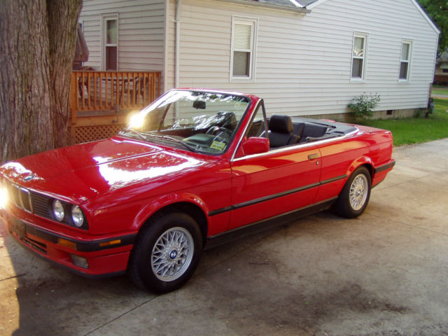 bmw e30 325i convertible custom wheels included classic bmw 3 series 1992 for sale. Black Bedroom Furniture Sets. Home Design Ideas