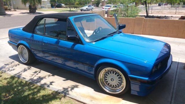 Bmw E30 Convertible 3 Series 318i Classic Bmw 3 Series