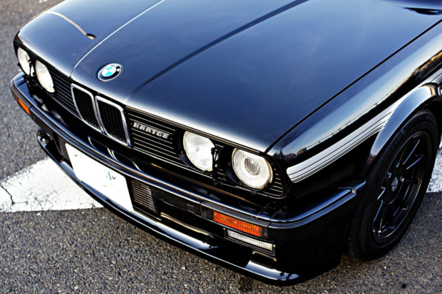 bmw e30 hartge h26sp 5speed not alpina 1986 japanese dealer model concourse classic bmw 3. Black Bedroom Furniture Sets. Home Design Ideas