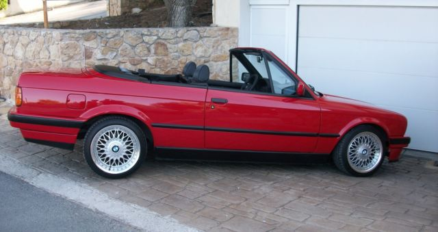 bmw e30 m40 318i cabrio 1992 totally like new classic bmw 3 series 1992 for sale. Black Bedroom Furniture Sets. Home Design Ideas