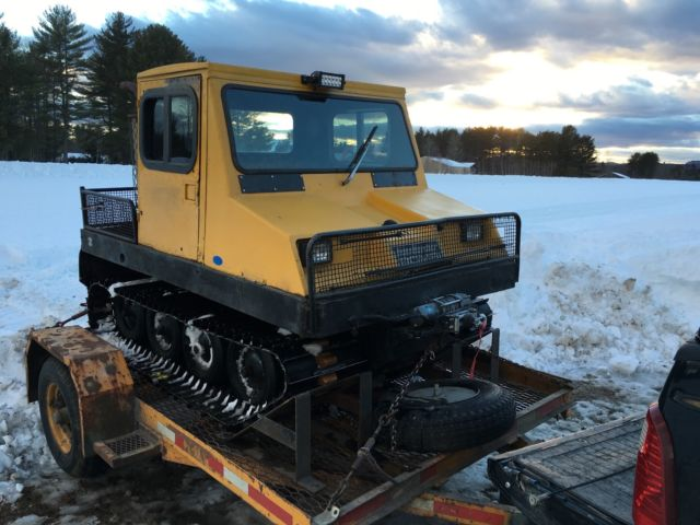 Bombi Snow Cat Tracked Vehicle Excellent Condition 4 Sp 60