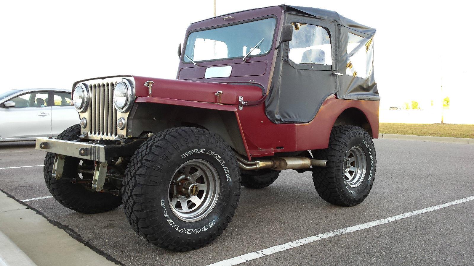Built 1949 Jeep Willys Cj3a Rock Crawler Dune