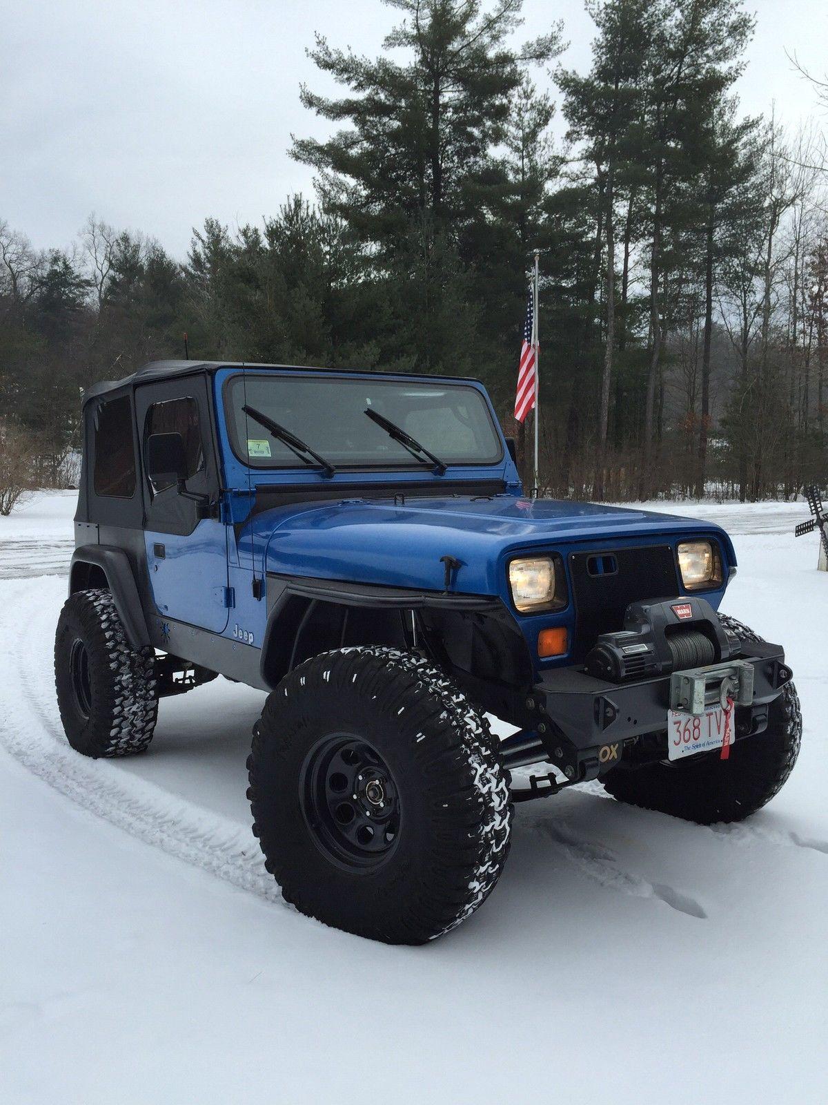 Built 1992 Jeep Wrangler Yj Rock Crawler Lift Lockers