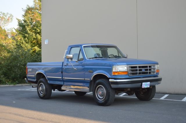 Built 1993 Ford F250 Reg Cab Long Bed 7 5l Xlt 4x4 Only