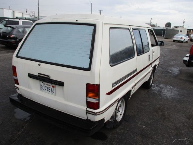 c 1984 toyota van used 2l i4 8v automatic no reserve classic toyota other 1984 for sale. Black Bedroom Furniture Sets. Home Design Ideas
