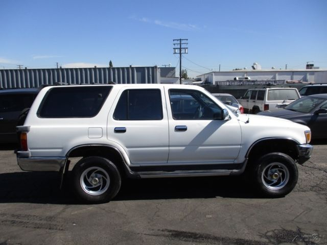 C 1990 Toyota 4runner Sr5 V6 Used 3l V6 12v Automatic No