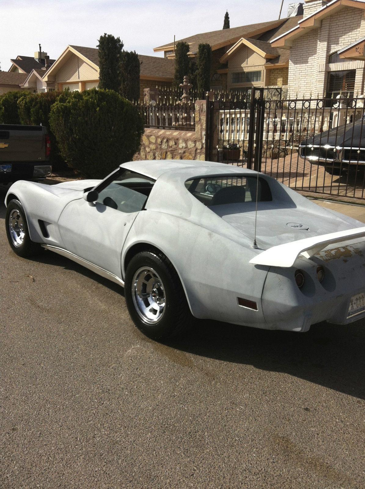 C3 1977 Chevy Corvette Blue Print 427 Engine Fuel
