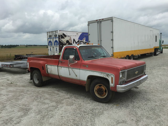 c30 chevy dually ratrod square body project truck classic chevrolet c k pickup 3500 1979 for sale. Black Bedroom Furniture Sets. Home Design Ideas