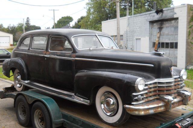 Cadillac 1947 Fleetwood Series 75 Limo 389 Pontiac Drive