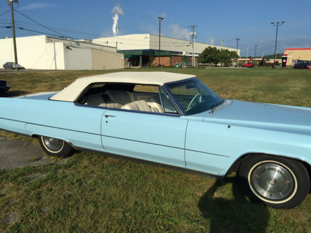 Cadillac Convertible Deville Original Drop Top Rare Vintage Clean Leather Style