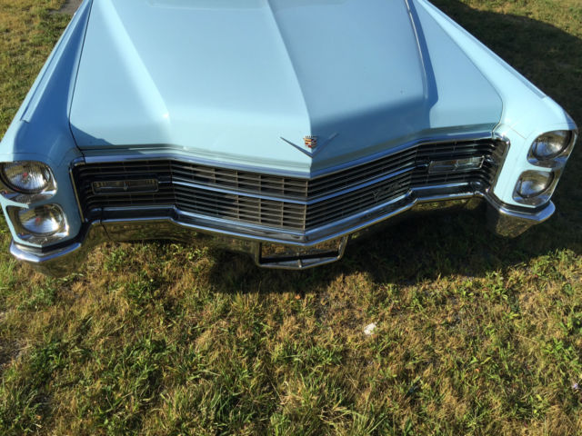 Cadillac Convertible Deville Original Drop Top Rare Vintage Clean Leather Style on 1966 Cadillac Deville Convertible Top Motor