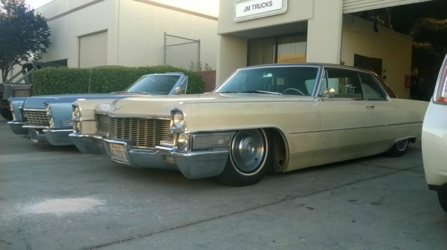 Cadillac Deville Coupe Classic Lowered Air Ride Bags Bagged Slammed