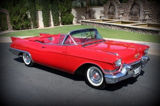 Cadillac Eldorado Biarritz Convertible Caddy Vintage Classic Rare Collectable