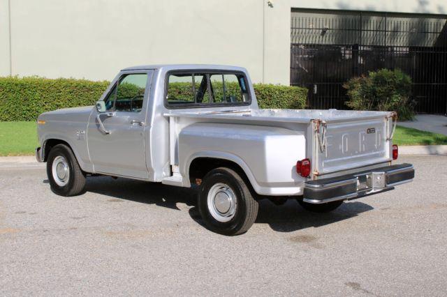 California 1984 Ford F150, Shortbed, Stepside, Cummins Turbo Diesel, Nice!!!! - Classic Ford F ...