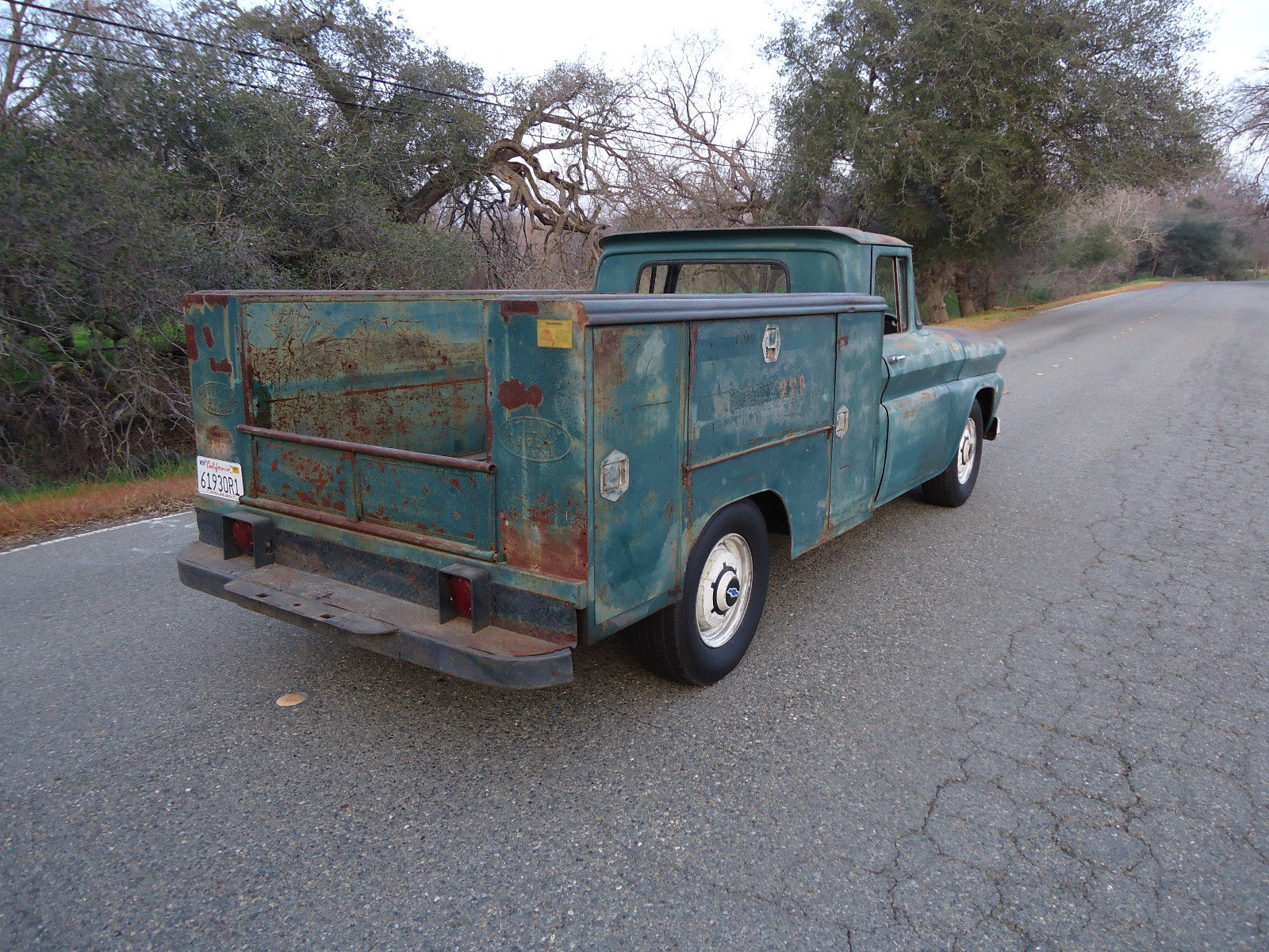 California Native 1961 Chevy Utility Bed Truck With