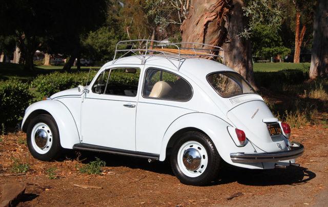 california original  1969 vw beetle  restored 1 owner  100