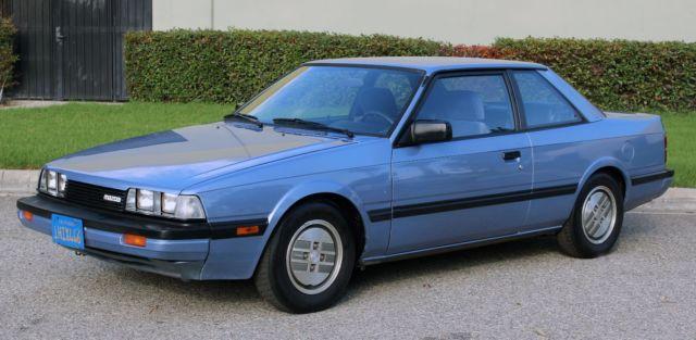 California Original  1983 Mazda 626 Lx  Auto  50k Orig