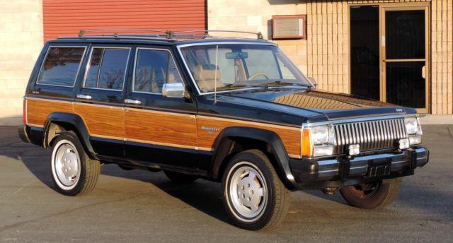california original 1985 jeep cherokee wagoneer limited. Black Bedroom Furniture Sets. Home Design Ideas