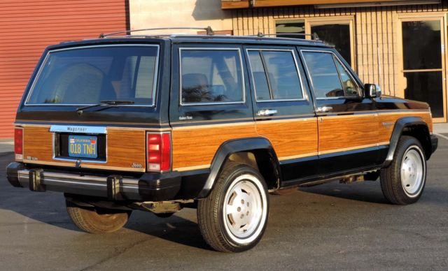 "Car Auctions California >> California Original, 1985 Jeep Cherokee Wagoneer Limited ""Woody"",100% Rust Free - Classic Jeep ..."