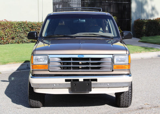 california original 1991 ford explorer 4x4 one owner 78k orig like new a classic ford. Black Bedroom Furniture Sets. Home Design Ideas