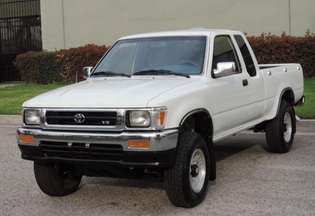 California Original, 1994 Toyota SR5 Pickup 4x4 Xtra Cab 6 Cyl, One Owner,A+++ - Classic Toyota ...