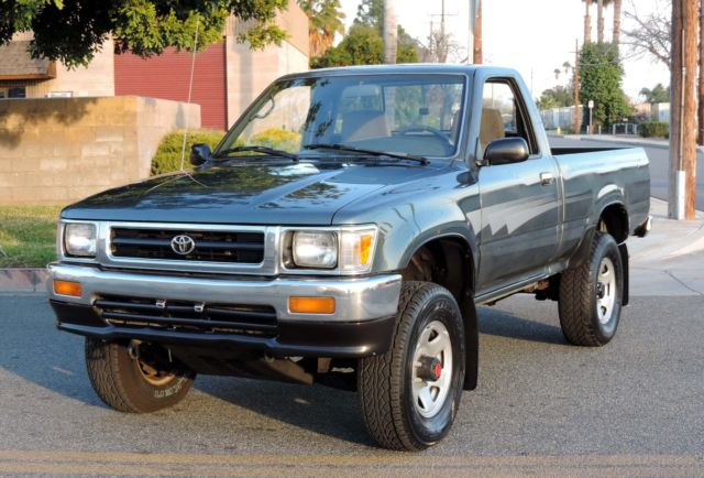 Vin Check Current Owner >> California Original,One Owner,1992 Toyota Pickup DLX 4x4 Shortbed,100% Rust Free - Classic ...