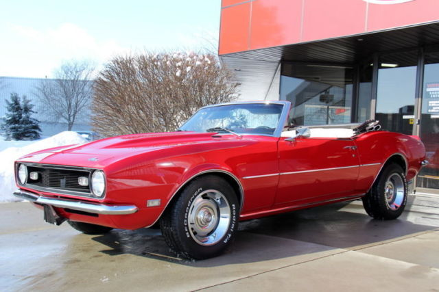 Camaro Convertible 350 5 Sd Tko Red Gorgeous Drop Top Solid