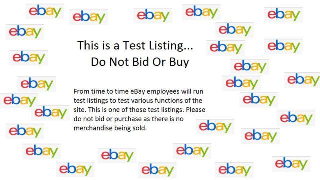Test listing DO NOT BID OR BUY153141604964