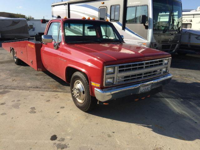 Car Hauler Hodges Ramp Truck Classic Chevrolet Silverado 3500
