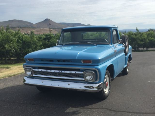 Chevrolet 1965 c 20 short box stepside truck classic chevrolet c 10