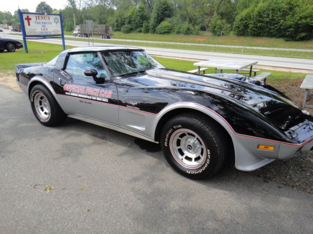 chevrolet 1978 corvette pace car georgia bill of sale classic chevrolet corvette 1978 for sale. Black Bedroom Furniture Sets. Home Design Ideas