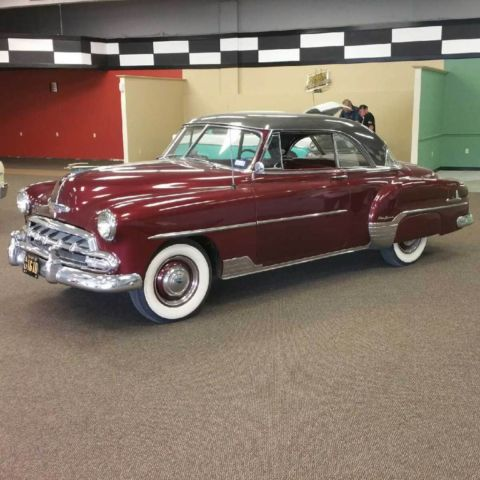 Chevrolet bel air styleline deluxe 2 door hardtop for 1952 chevy deluxe 2 door for sale