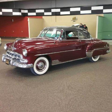 Chevrolet bel air styleline deluxe 2 door hardtop for 1952 chevy two door hardtop
