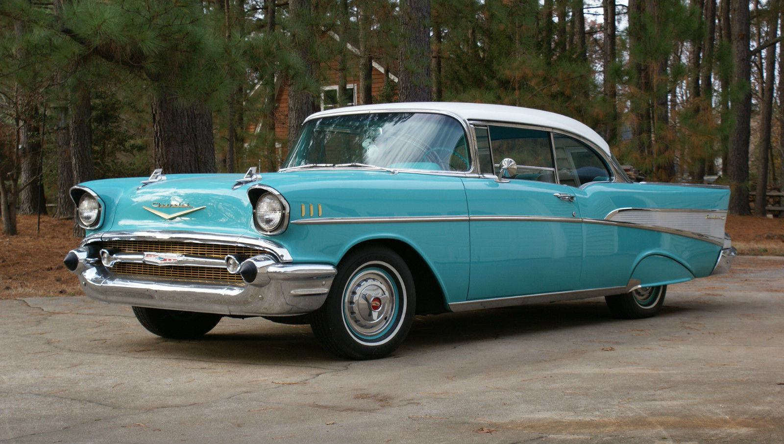 Chevrolet Bel Air 150 210 2 Door Hardtop 1957 Chevy Prevnext