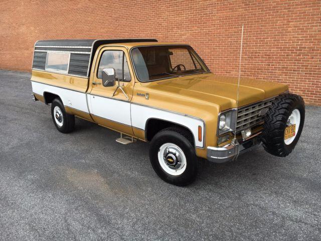 Chevrolet K20 K30 K10 C10 C20 C30 4wd Chevy Scottsdale