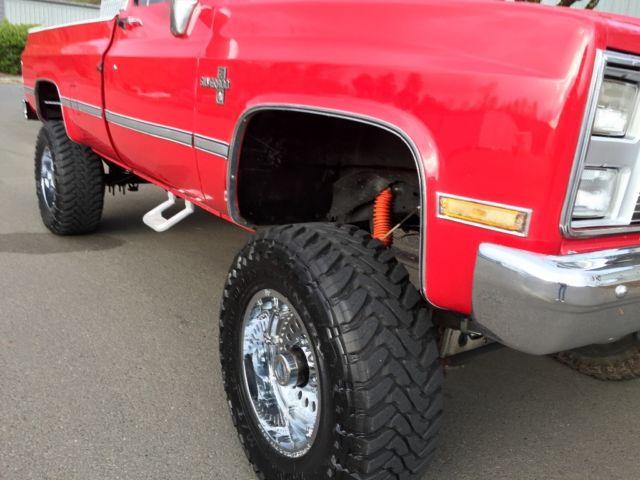 Chevy Silverado Lifted For Sale >> CHEVROLET SILVERADO K30 K20 K10 GMC SIERRA C/K 3500 2500 4X4 LIFTED 1981-1987 - Classic ...