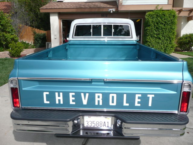 chevy 1969 c20 pickup truck full size p s p b a c frame off restoration nice classic. Black Bedroom Furniture Sets. Home Design Ideas