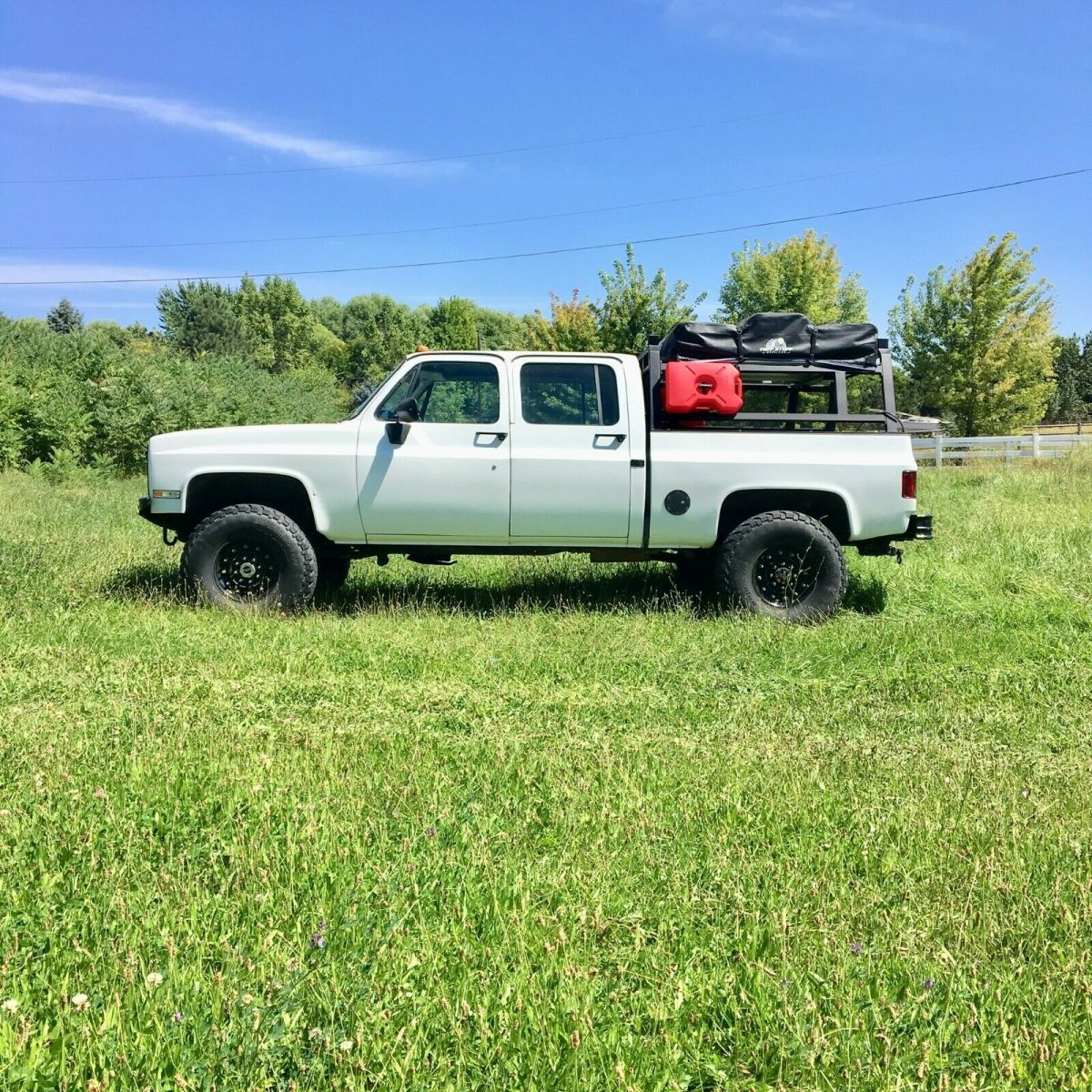 Chevy 4x4 short bed crew cab k30 / v3500 - Classic ...