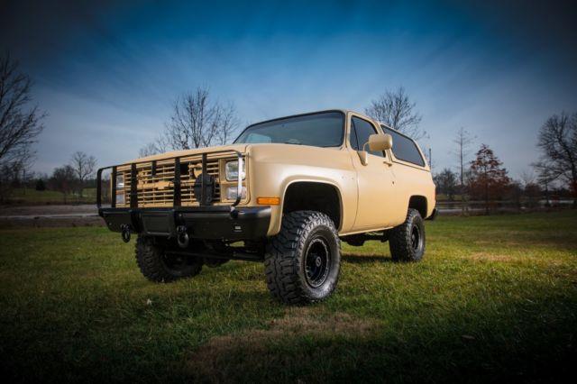 Chevy Blazer Cucv M Military Blazer L Diesel