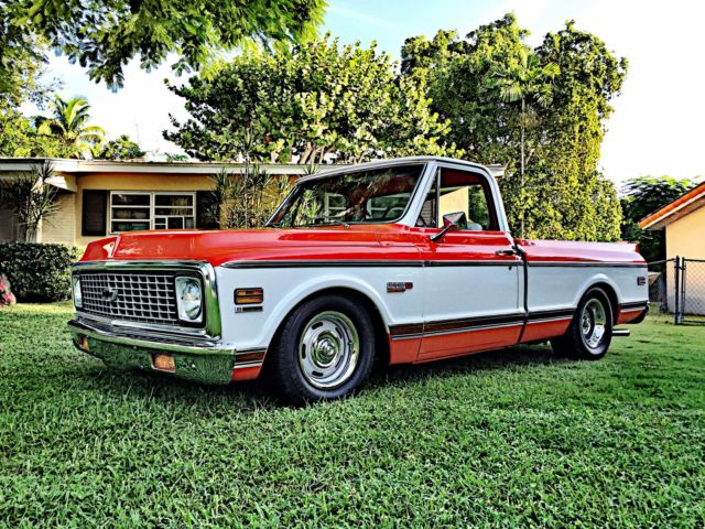 CHEVY C10 CHEYENNE SUPER pickup shortbed chevrolet custom ...