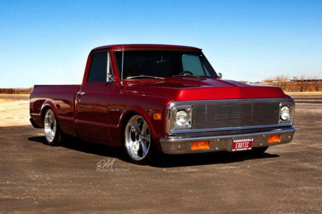 chevy c10 shortbed 69 pro touring custom truck classic chevrolet c 10 1969 for sale. Black Bedroom Furniture Sets. Home Design Ideas