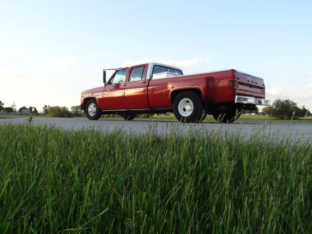 chevy c30 custom deluxe crew cab dually diesel classic chevrolet other pickups 1987 for sale. Black Bedroom Furniture Sets. Home Design Ideas
