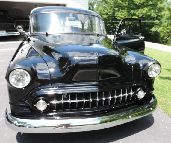 Chevy car black 1953 bel air 2 door sedan classic for 1953 belair 2 door